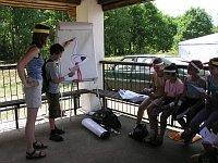 Sporo dzieci wzięło udział w ornitologicznej lekcji języka angielskiego